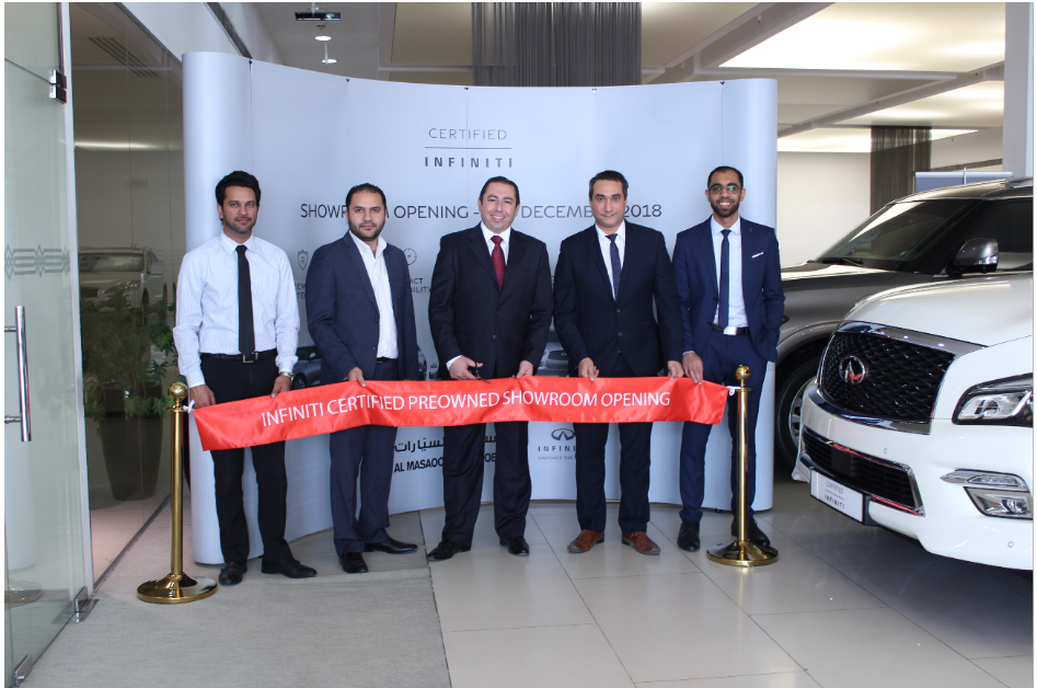 Al Masaood Automobiles opens world-class pre-owned INFINITI showroom in Abu Dhabi