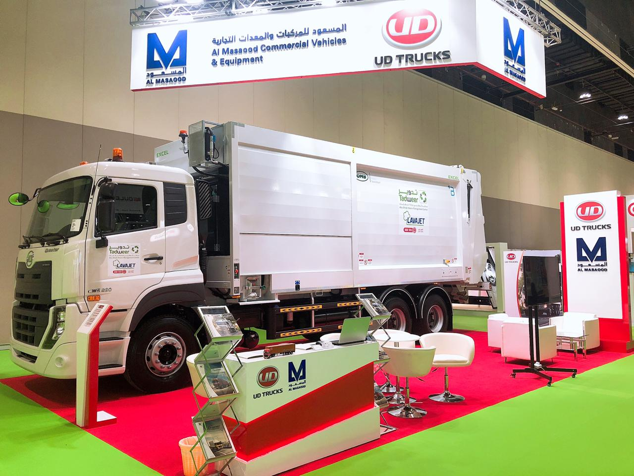 Al Masaood participates in World Future Energy Summit – Eco-Waste Exhibition 2019