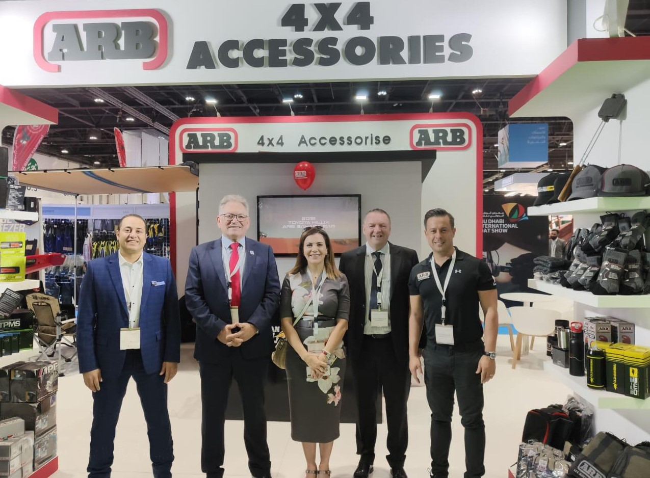 For the 11th consecutive year ARB 4x4 Accessories is participating at Abu Dhabi International Hunting and Equestrian Exhibition 2019