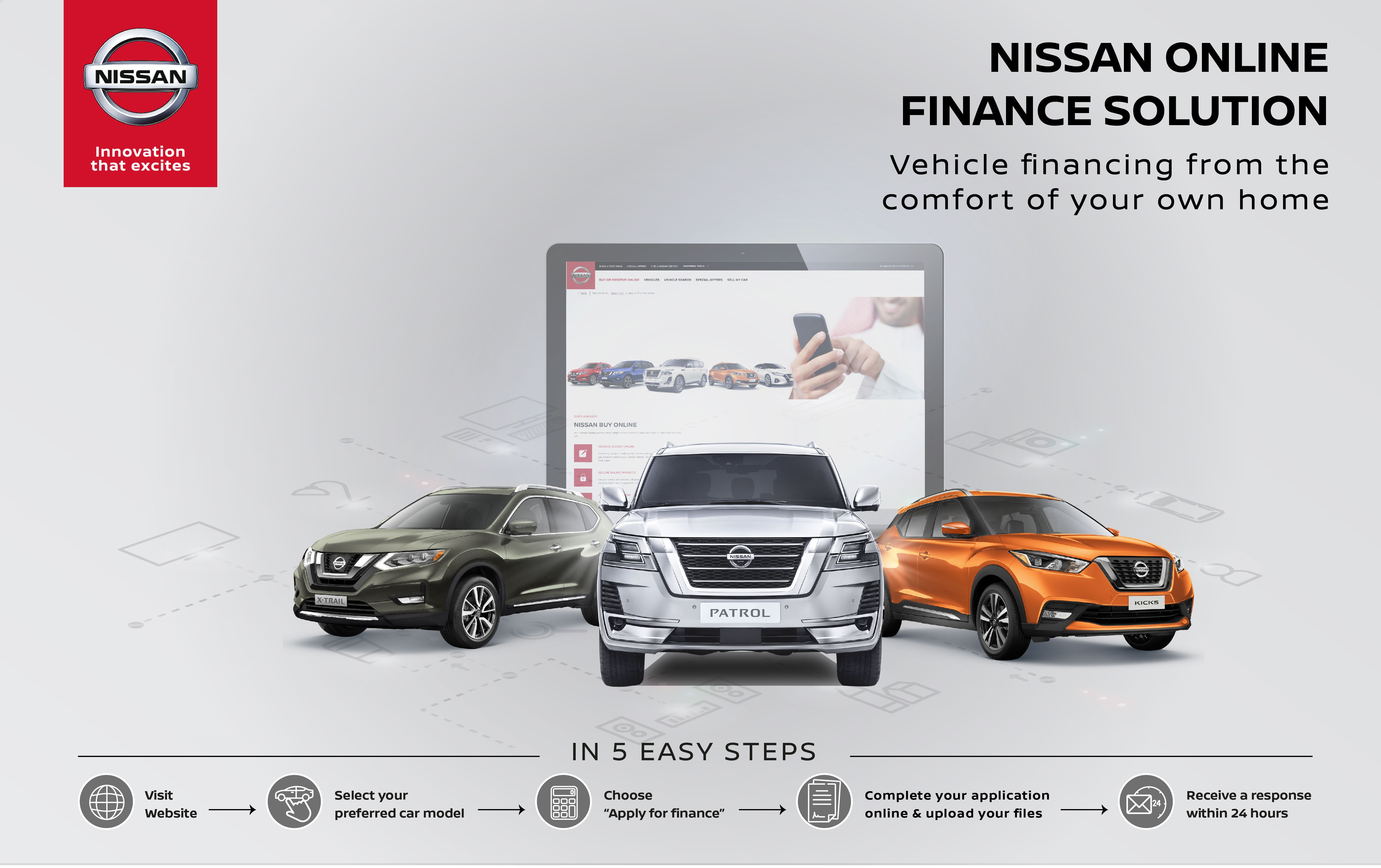 New Nissan Online Financing Solution from Al Masaood Automobiles to Accelerate Customer Journey